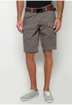 Low Slim Tapered Non-Denim Shorts