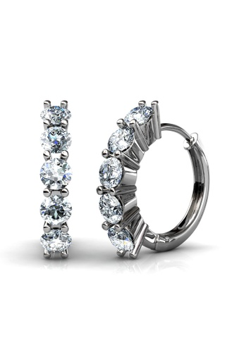Her Jewellery silver Her Jewellery Charming Earrings with 18K Gold Plated 1DA45AC6EE4A40GS_1
