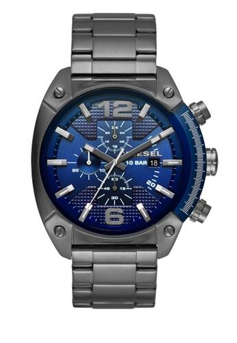 Diesel silver Overflow Chronograph Watch DI095AC0K94HPH_1