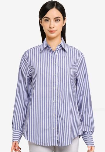 Banana Republic blue Classic Shirt 6D1DDAADD89746GS_1
