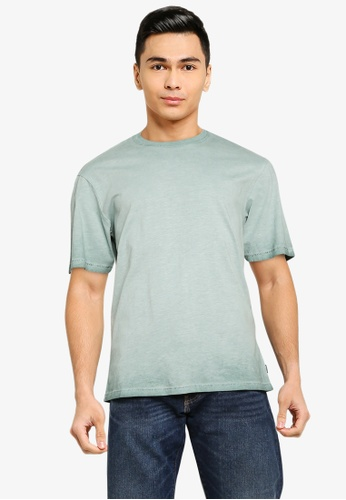 Only & Sons blue Millenium Life Washed Tee CEEA1AAF88AA0DGS_1