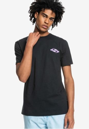 Quiksilver black Hypnotic Bliss T-Shirt C3AE0AA77A2677GS_1