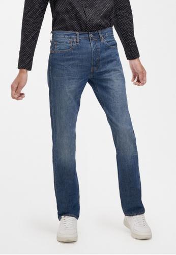 Levi's blue Levi's 501 Original Fit Jeans 00501-2964 85A7EAAC262F15GS_1