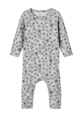 NAME IT grey and blue Nille Long Sleeves Bodysuit 146A7KAB353D8DGS_1