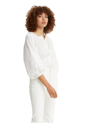 Levi's white Levi's Genevieve Top Bright White (29692-0001) 58085AA964B693GS_1