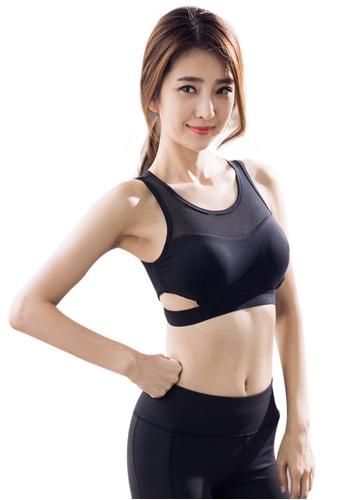 YG Fitness black Sexy Quick-Drying Running Fitness Yoga Bra 5C257USBC5F85AGS_1