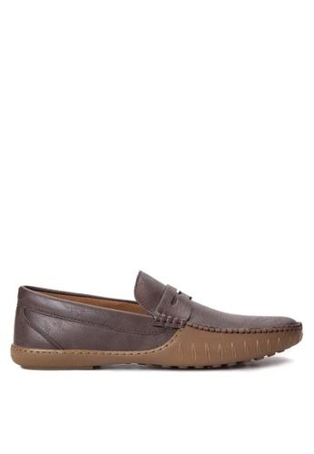 Mendrez brown Lennon Loafers & Moccasins ME992SH58ZUZPH_1