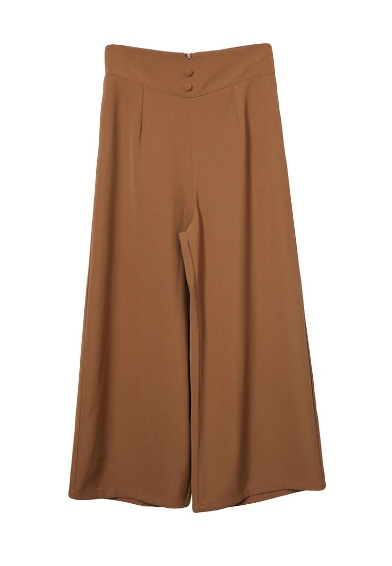 Kodz Kodz Wide Brown Wide Legged Culottes da5q6w
