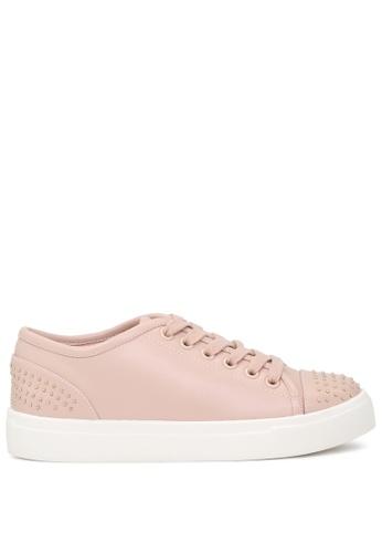London Rag beige Casual Studded Sneakers SH1717 946F4SH3680933GS_1