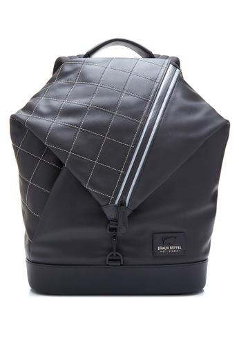 Braun Buffel black Danny-S Large Backpack 691DAAC185A23BGS_1