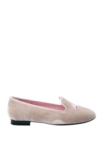 Covet grey French Sole Hefner Ballet Flats CO331SH0JBSRPH_1