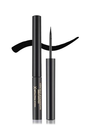 Max Factor black Max Factor Colour X-Pert Waterproof Eyeliner 1.7 ml, 01 Deep Black FFED8BE7F92EF0GS_1
