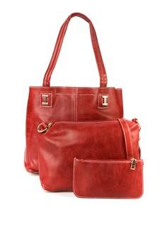 Julia Tote Bag With Sling Bag / Wristlet