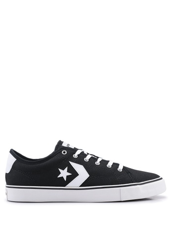 e3e0a363ef7c Converse black Star Replay Star Of The Show Ox Sneakers 169C8SH95EE0FCGS 1