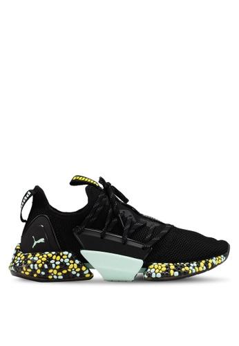 d3b4f44f8610 Puma black Run Train Hybrid Rocket Runner Women s Shoes 77350SHBD14312GS 1