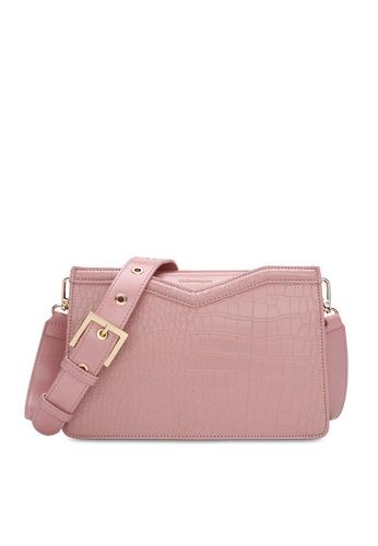 Volkswagen pink Casual Crossbody Bag DECF6AC16DE004GS_1