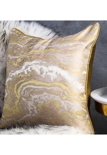 Maison Curio Biacan Cushion Lemon 7911BHL9164091GS_1