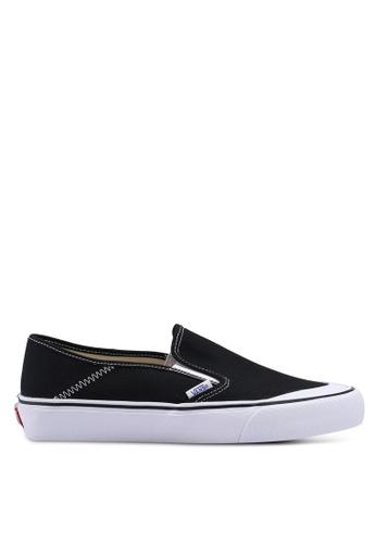 VANS black and white Slip-On SF VA142SH0SWQRMY_1