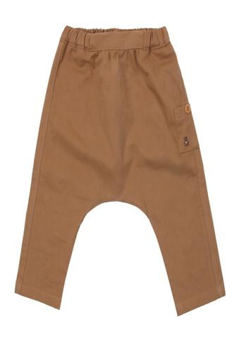 Organic mom brown Organic Cotton  Dick  Pants 5FF04KA97B7700GS_1