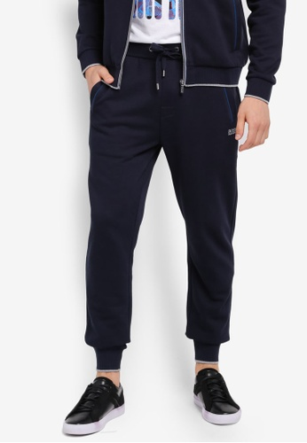 BOSS blue and navy Authentic Pants - Boss Body BO517AA0SRCCMY_1