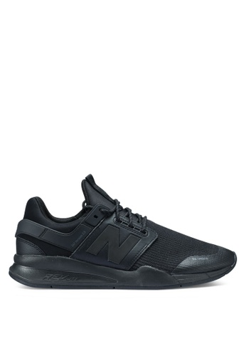 New Balance black 247 Lifestyle Shoes 90F8DSHFB64F84GS_1