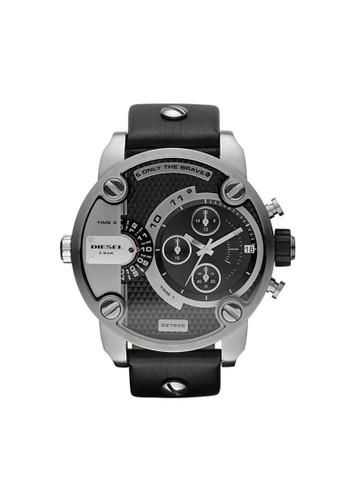 Little Daddy雙時區計時腕錶 DZ7256, 錶類, 時尚esprit hk store型