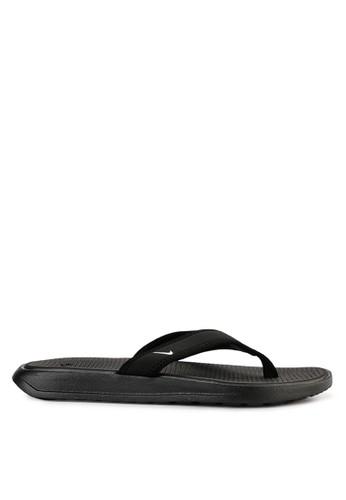 Nike black Men's Ultra Celso Thong Sandals 72A0DSH4D601D6GS_1