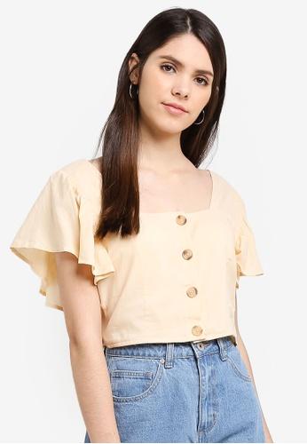 Cotton On beige Ava Blouse B1620AA84E07FAGS_1