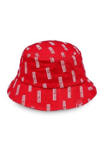 361° red Tour Bucket Hat 4DCA1KC100EF6CGS_1