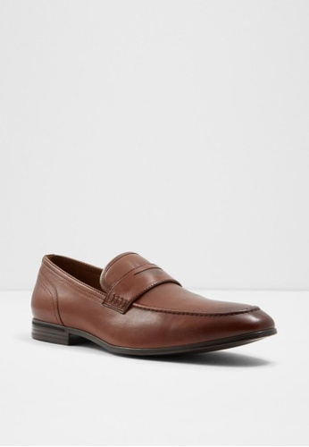 ALDO brown Wigomwen Loafers 4FC40SH3A44945GS_1