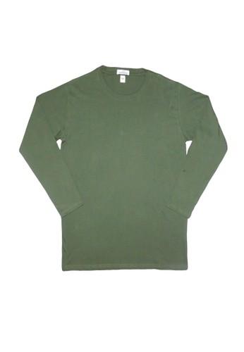 Hangdeb green T-SHIRT POLOS 81D9EAA16FD125GS_1