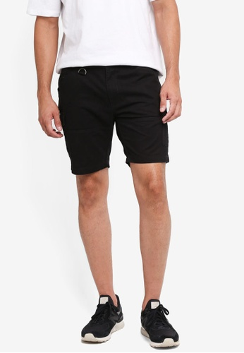 SPARROW GREEN black Clive Cargo Shorts B07F7AA10CA042GS_1