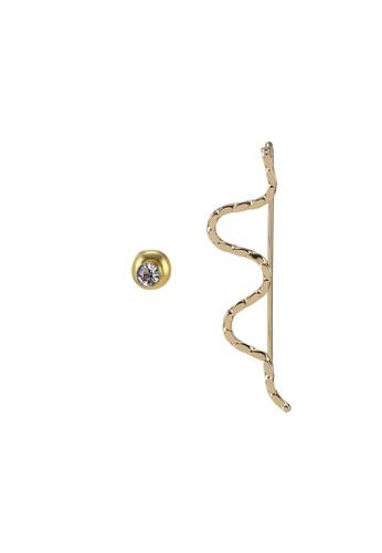 ALDO gold Ybirajan Pierced Earrings 91C99ACEB6C21CGS_1