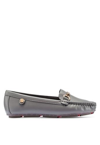 Carlton London 灰色 金屬飾樂福鞋 64E40SH96B7964GS_1