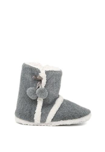 London Rag 灰色 London Rag 女士灰色室内靴子 6995FSH4816FF5GS_1
