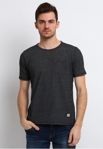 Arnett black Arnett Baju Pria T-Shirt Lengan Pendek Black A066CAA3DC50ABGS_1