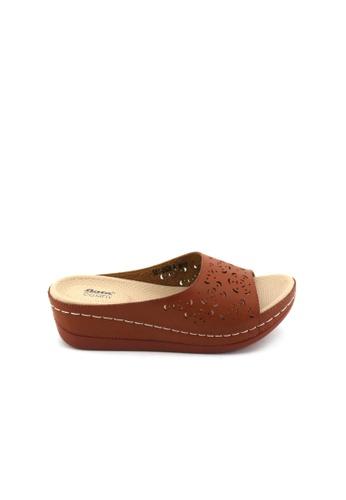 BATA Bata Women Brown Sandals - 6614902 79816SH40F7DE9GS_1