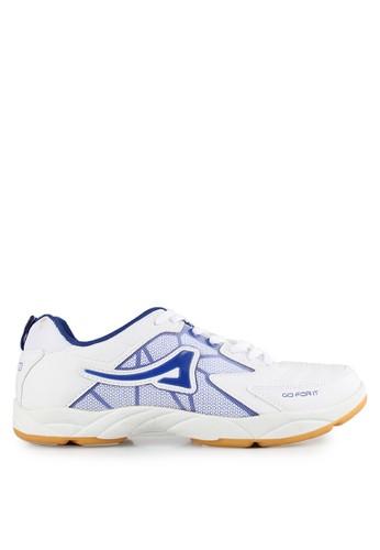 Ardiles white and multi Men Badminton Shoes AR073SH0V8NBID_1