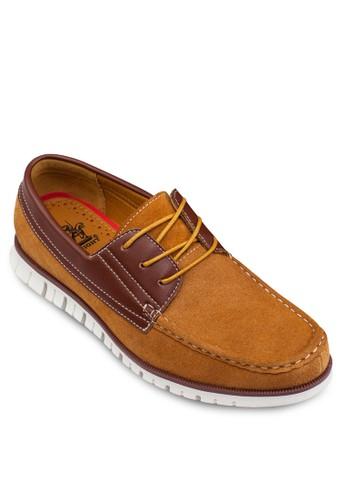 配色船型鞋, 鞋esprit hk store, 男鞋