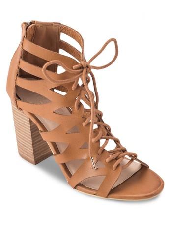 Lincolnzalora 衣服評價 多帶繫帶高跟涼鞋, 女鞋, 鞋