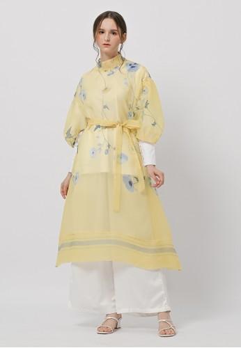 KNW yellow Berliana Tunic Yellow Lemon 7171AAAB8E50ADGS_1