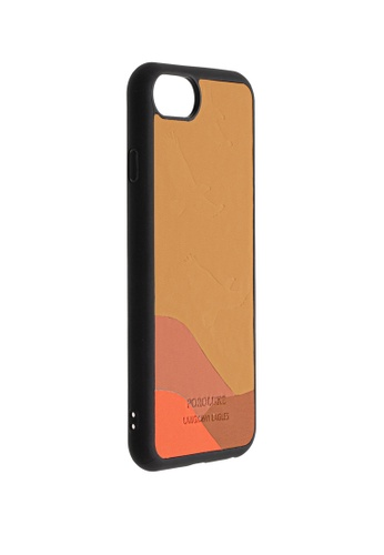 POROLUXE brown PHONE CASE FOR IPHONE 6/7/8 48A7AACD82F366GS_1