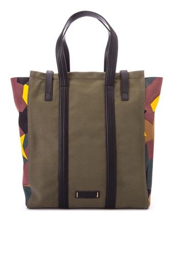 Calvin Klein green M N/S Tote Bag Green Tote Bags CA221AC0KFRRPH_1