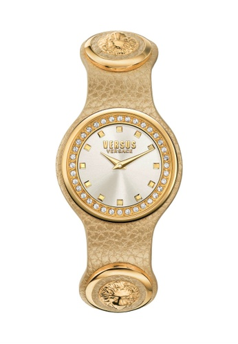 Versus gold Versus Versace Carnaby Leather Gold Women Watch VESCG170016   B3799ACA8574B1GS_1