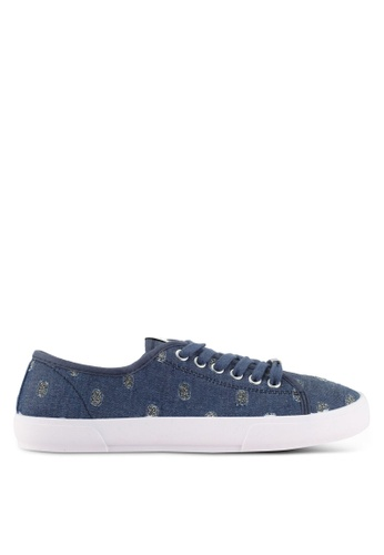 ONLY blue and navy ONLY ONE Saphir Sneakers 559BASH6EE7140GS_1