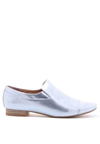 PRODUIT PARFAIT silver Oxford Shoes 241E9SHB8E7740GS_1