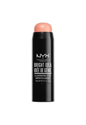 NYX Professional Makeup pink NYX Professional Makeup Bright Idea Illuminating Stick - PINKIE DUST 2E169BE7C1A330GS_1