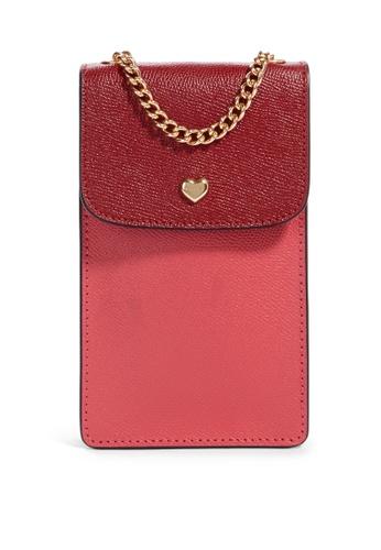 Coach red NS Phone Crossbody Bag (cv) 47B27AC9E5B393GS_1