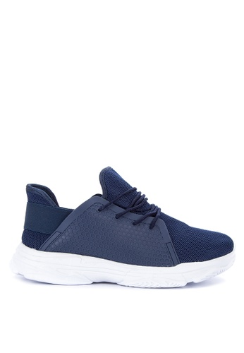 H2Ocean navy Clovis Lace up Sneakers 2A7FASHD777572GS_1