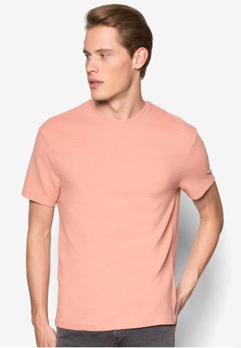 羅紋素色TEEesprit hk, 服飾, T恤